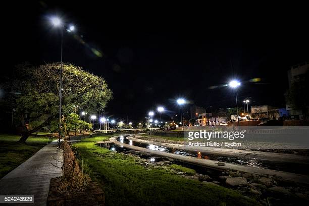 view of a city at night - andres ruffo bildbanksfoton och bilder