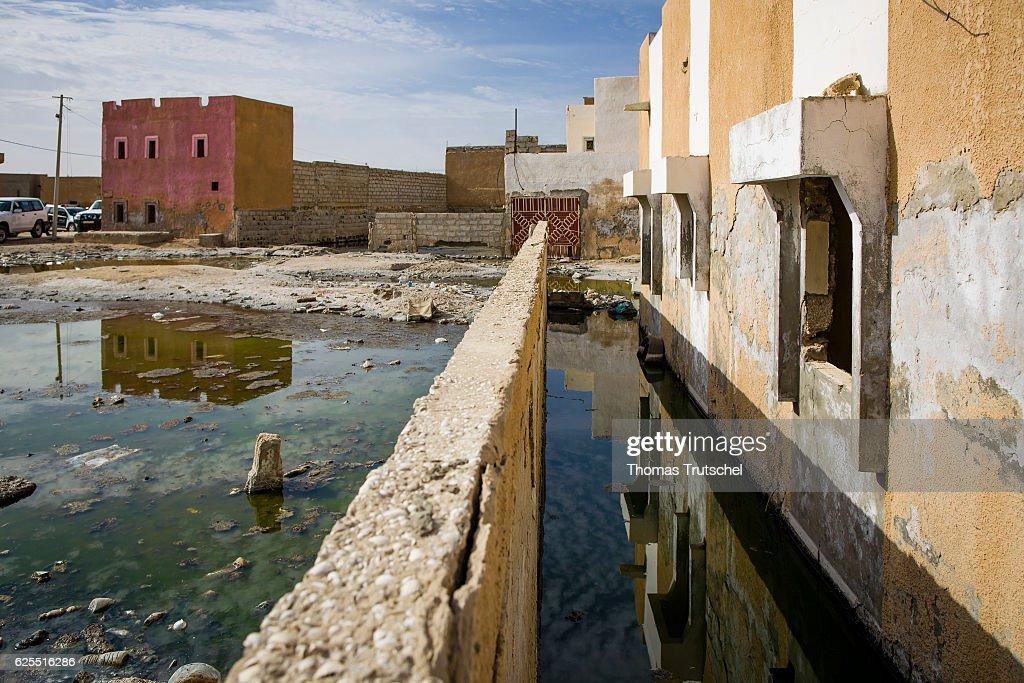 Abandoned City District In Nouakchott : News Photo
