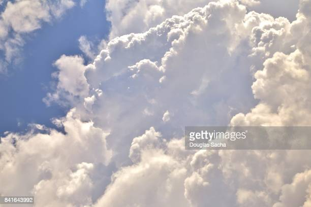 view of a cloudy sky at daytime - elysium stock pictures, royalty-free photos & images