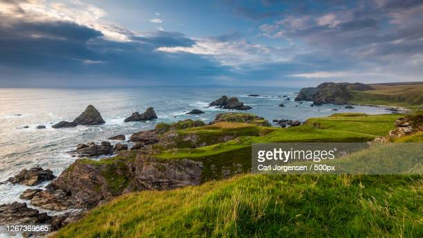 a view of a coast, isle of islay, uk - scotland stock pictures, royalty-free photos & images