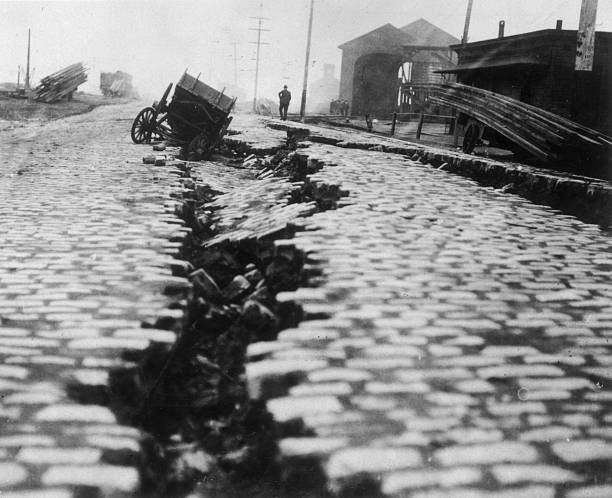 CA: 18th April 1906 - The Great San Francisco Earthquake