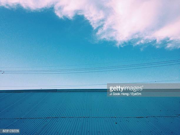 View Of A Corrugated Iron Roof