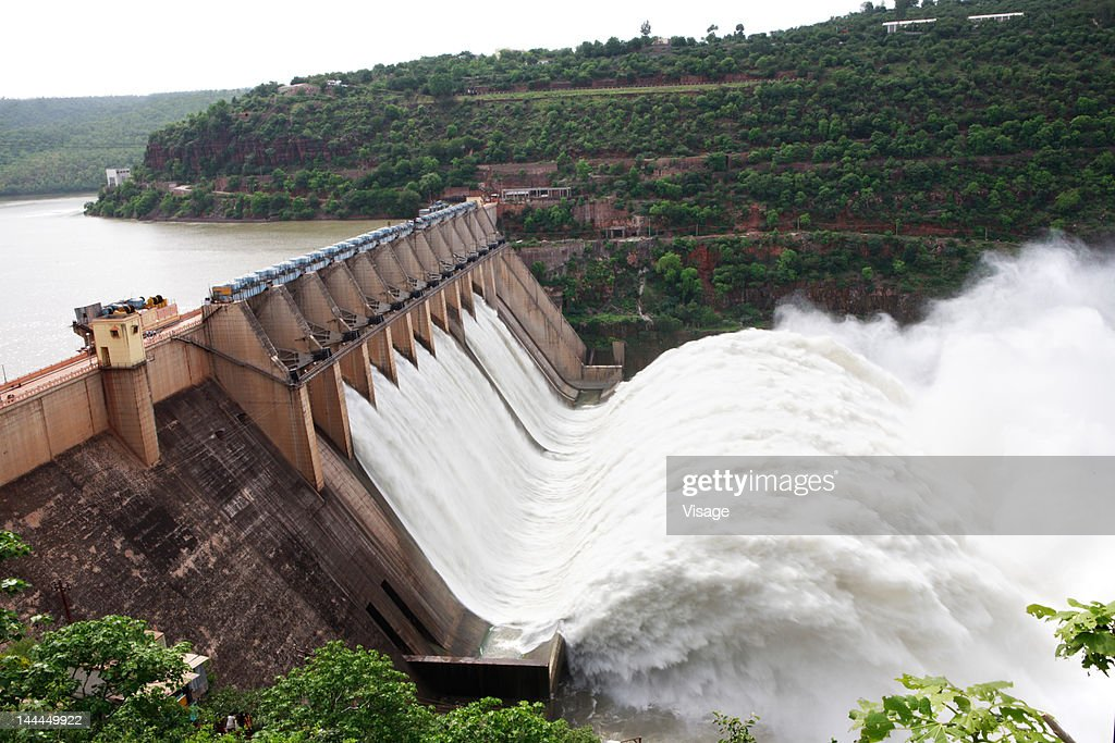 View of a dam : Stock Photo