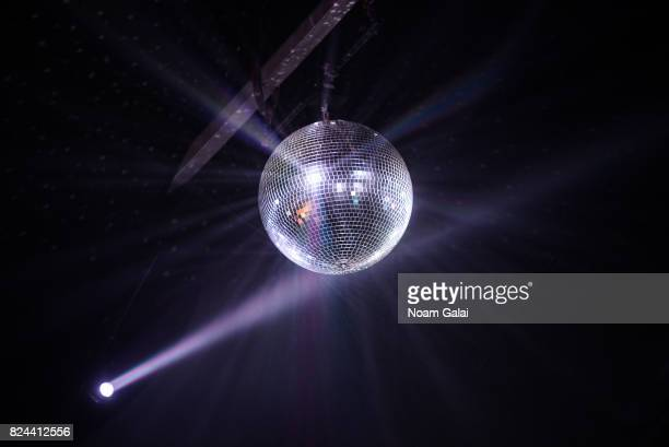 A view of a disco ball at the 2017 Panorama Music Festival at Randall's Island on July 29 2017 in New York City