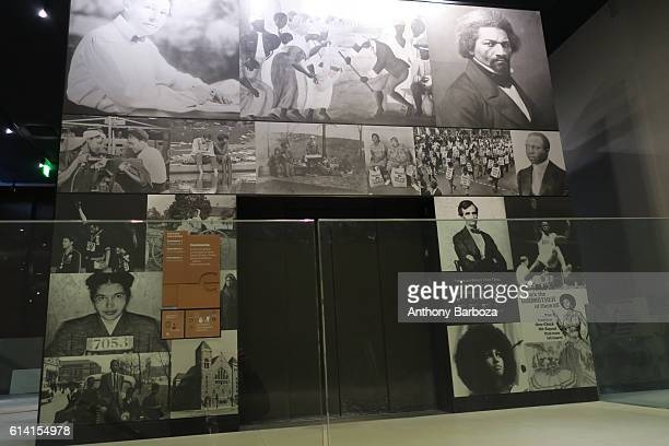 View of a display at the National Museum of African American History and Culture Washington DC September 28 2016