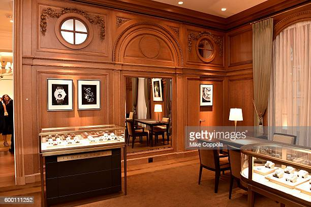 A view of a display room at the Cartier Fifth Avenue Grand Reopening Event at the Cartier Mansion on September 7 2016 in New York City