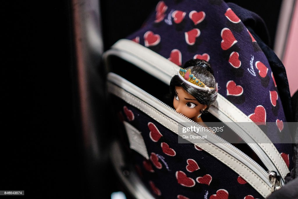 A view of a doll backstage at the Vicky Zhang fashion show during New York Fashion Week: The Shows at Gallery 1, Skylight Clarkson Sq on September 13, 2017 in New York City.