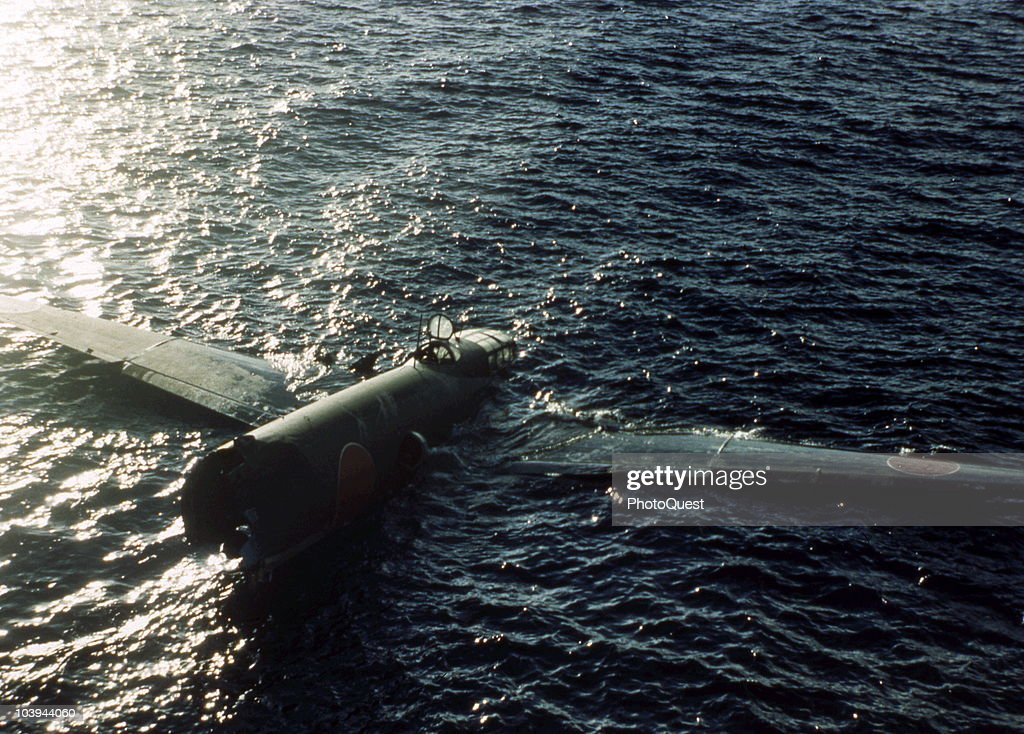 Downed Japanese G4M : News Photo