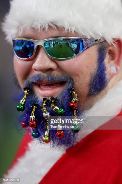 A view of a fan as the Dallas Cowboys take on the Seattle Seahawks at ATT Stadium on December 24 2017 in Arlington Texas