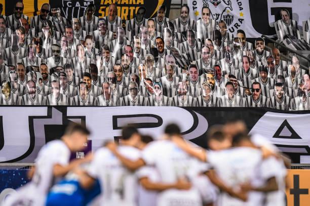 BRA: 2020 Brasileirao Series A:  Atletico MG v Corinthians Play Behind Closed Doors Amidst the Coronavirus (COVID - 19) Pandemic