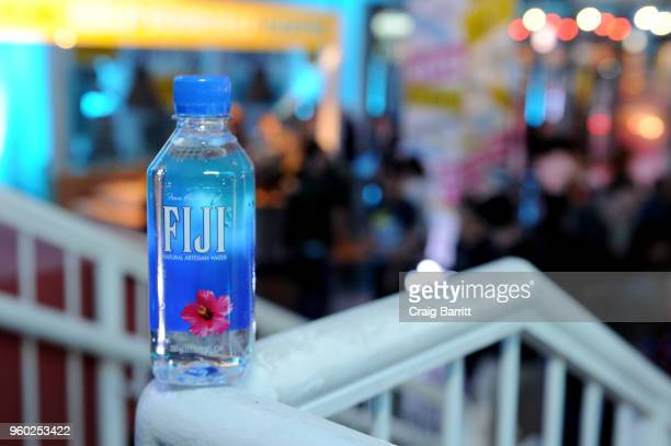 View of a Fiji water bottle during Vulture Festival presented by ATT at Milk Studios on May 19 2018 in New York City
