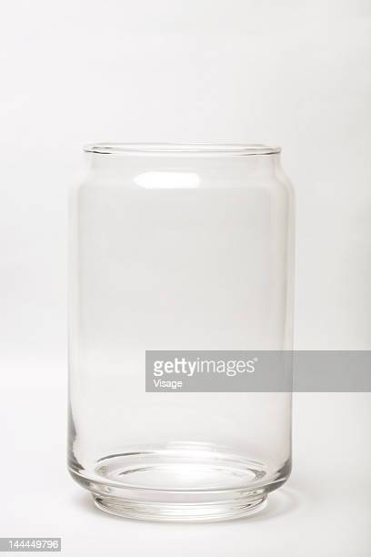 View of a glass jar