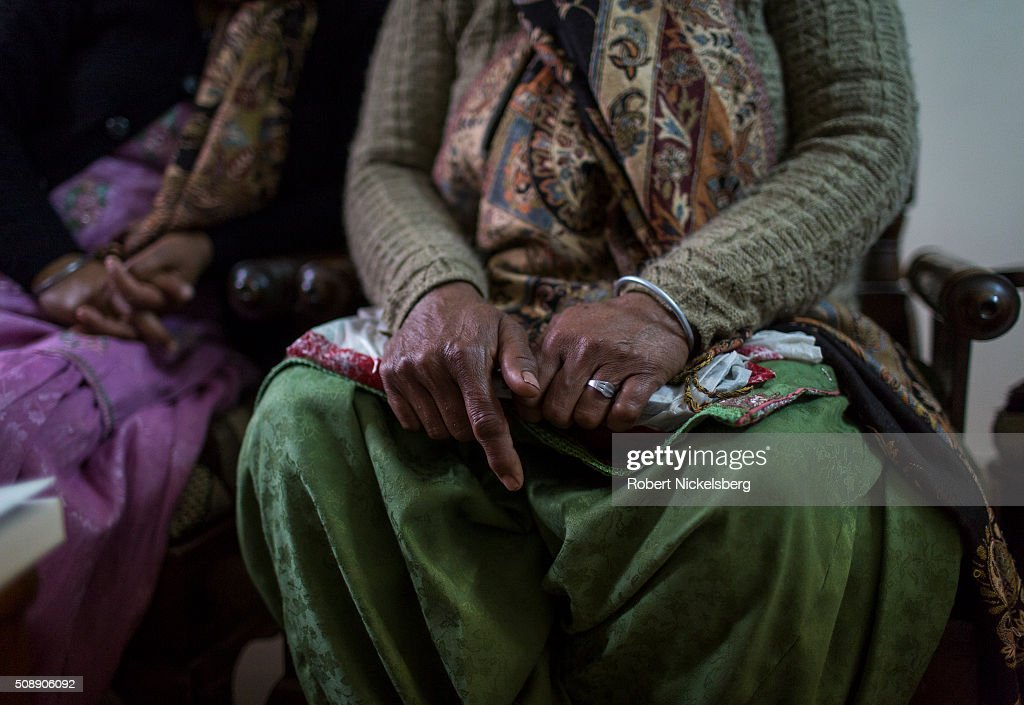 Sikh Women Talk About Disappeared : News Photo