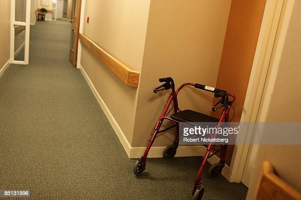 A view of a hallway at an independent living facility one December 26 2008 in Connecticut The first independent living facility was started in 1972...