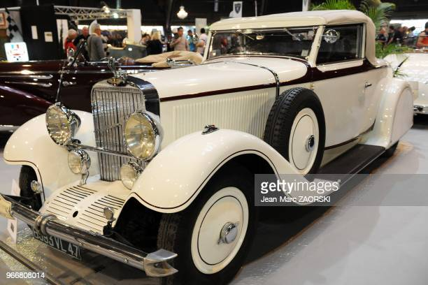 A view of a HispanoSuiza HF 26 1931 shown at the Avignon Motor Festival in Avignon in France on March 24 2012 More than a century of locomotion