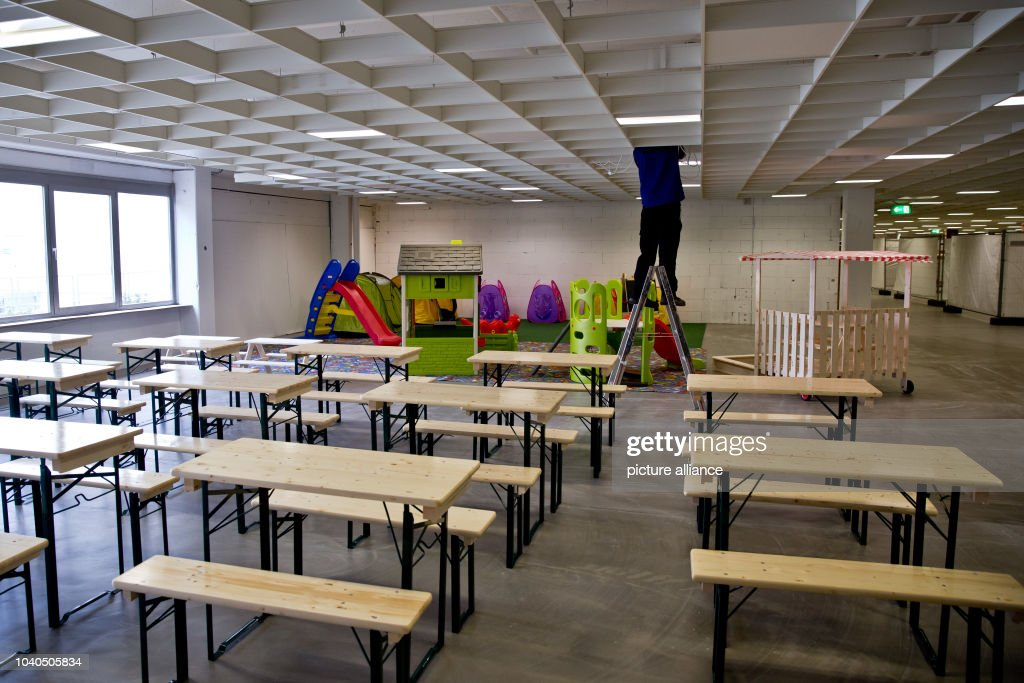 Charmant View Of A Kidsu0027 Corner In A Former Furniture Store Re Used As A... News  Photo | Getty Images