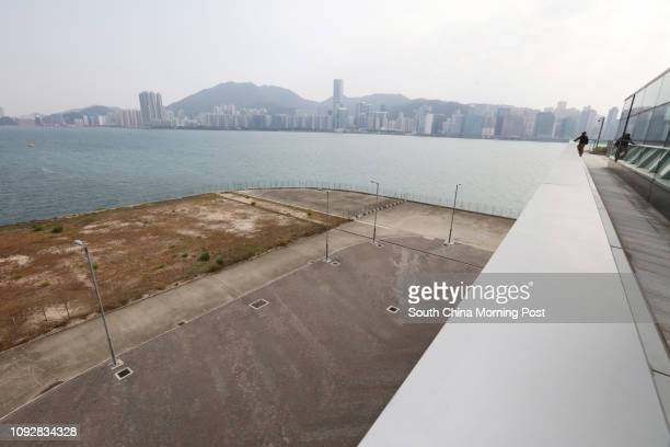 A view of a land near Kai Tak Cruise Terminal There will be built a Heliport 03MAR17 SCMP / Felix Wong