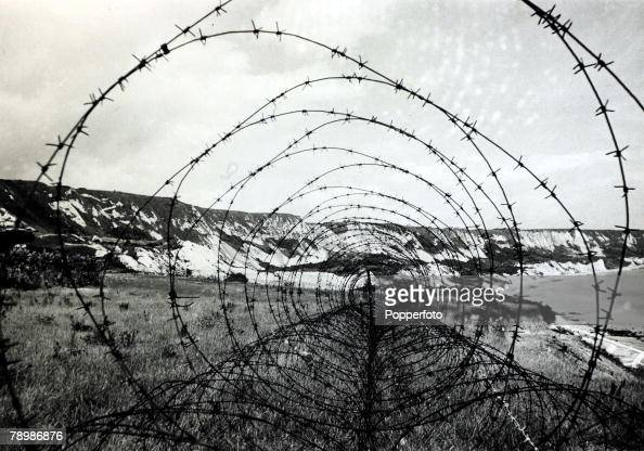 War and conflict world ii pic barbed wire