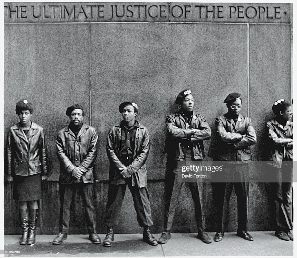 Black Panthers Protest At NYC Courthouse : News Photo