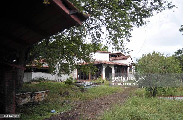 View of a mansion once owned by Panama's former dictator Manuel Noriega in Panama City on December 10 2011 Two decades after being ousted during a...
