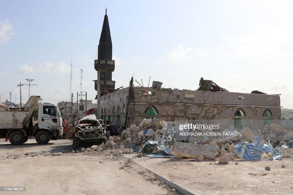 SOMALIA-UNREST-ATTACK : News Photo