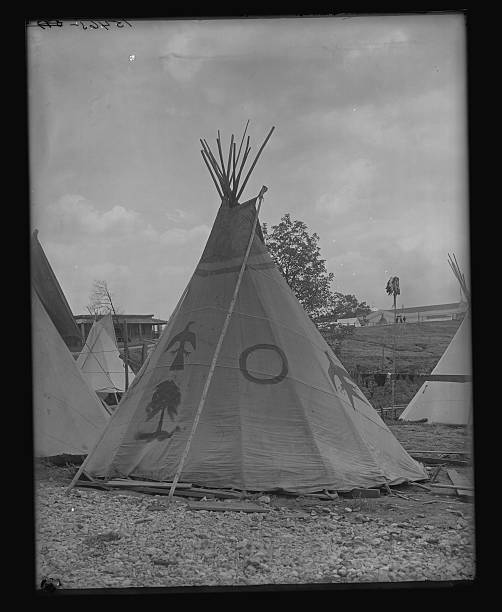 Rosebud Sioux Tipi Pictures