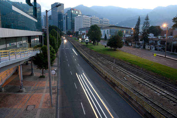 COL: Bogota Goes Back To Total Lockdown