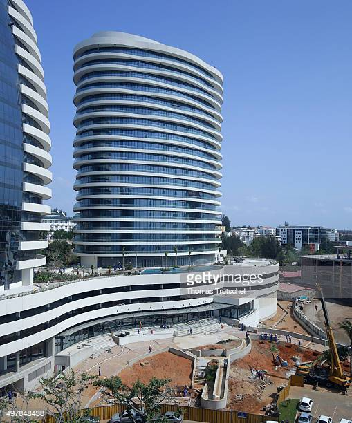 View of a newly built luxury hotel on November 19 2015 in Maputo Mozambique