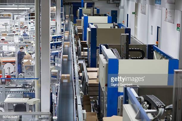view of a paper packaging factory - sigrid gombert stock-fotos und bilder