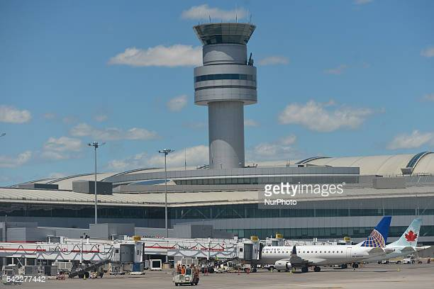 A view of a part of the Toronto Pearson International Airport On Wednesday 22 June 2016 in Toronto Canada