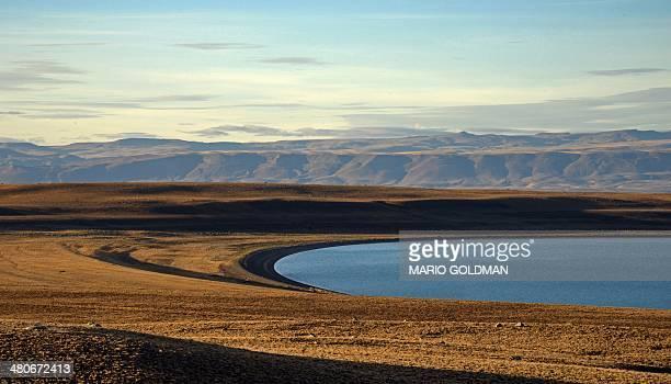 View of a Patagonian steppe near El Chalten Santa Cruz province Argentina on March 18 2014 AFP PHOTO / MARIO GOLDMAN