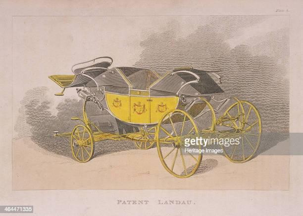 View of a patent landau 1809