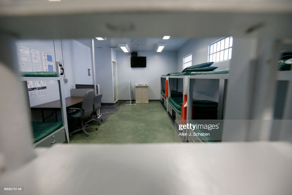 MONTEBELLO, CA -- WEDNESDAY, DEC. 14, 2016: A view of a pay-to-stay jail cell dorm room at the Montebello jail in Montebello Wednesday, Dec. 14, 2016.