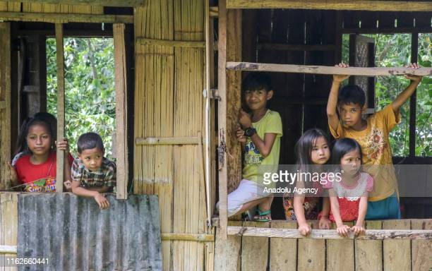 View of a peaceful street in the first hours of the morning, as locals continue to their daily lives, in Bangsamoro, Cotabato, Philippines on August...