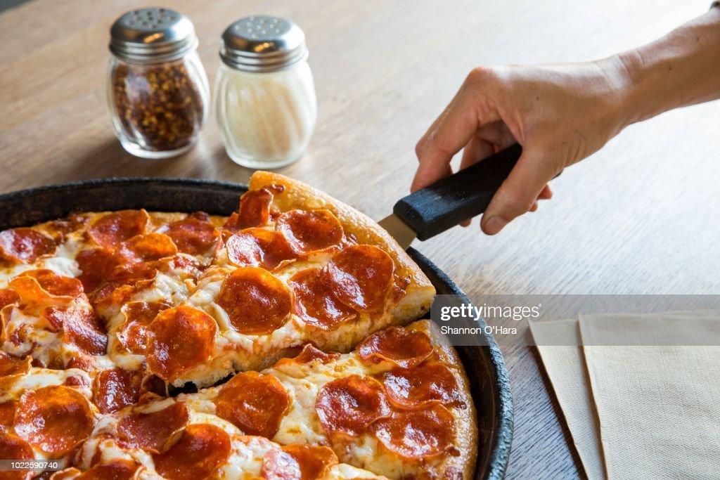 Pizza Hut in Louisiana : News Photo