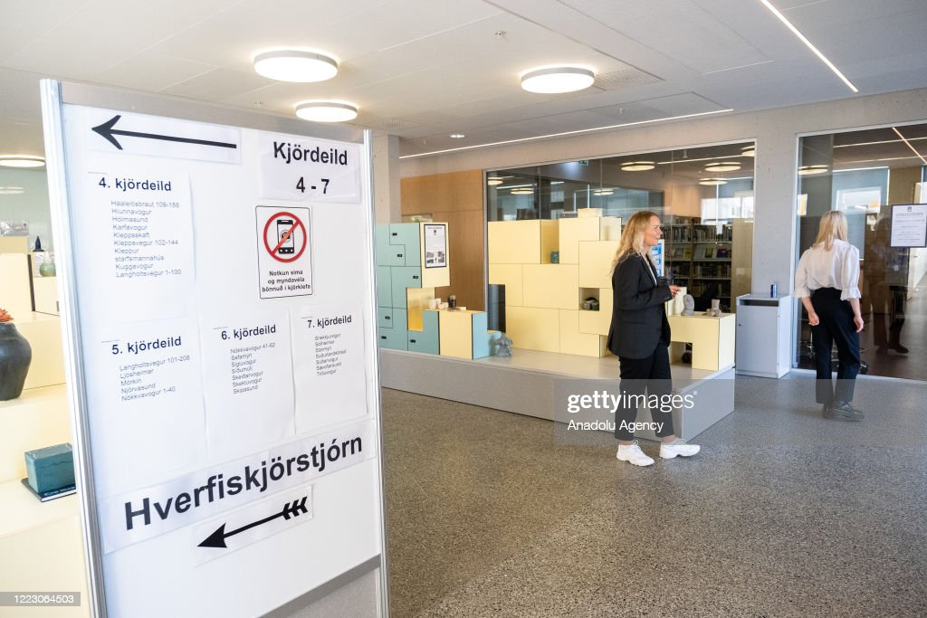 Icelandic presidential election : News Photo