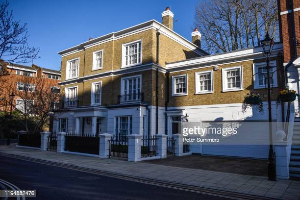 A view of a property which cost GBP 13 million owned by Isabel Dos Santos on January 20 2020 in London United Kingdom Isabel Dos Santos is the...