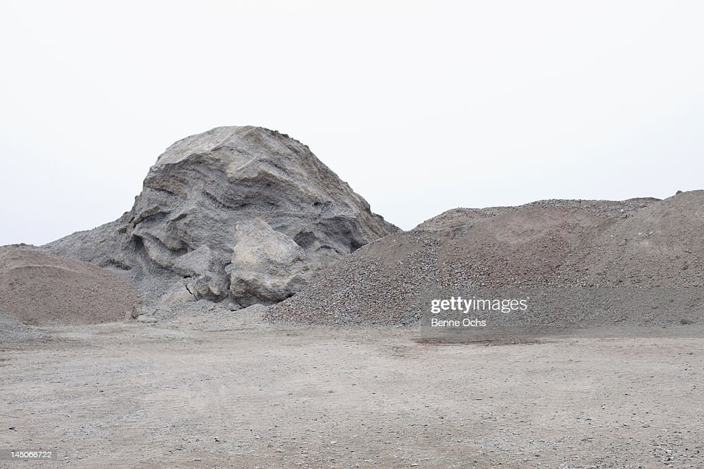 View of a quarry : Stock Photo