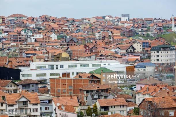 View of a residential area in Pristina on March 30, 2017 in Pristina, Kosovo.