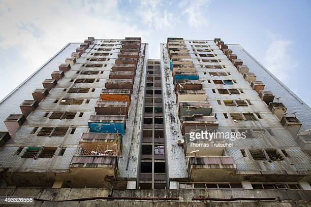 View of a residential building on September 28 2015 in Beira Mozambique