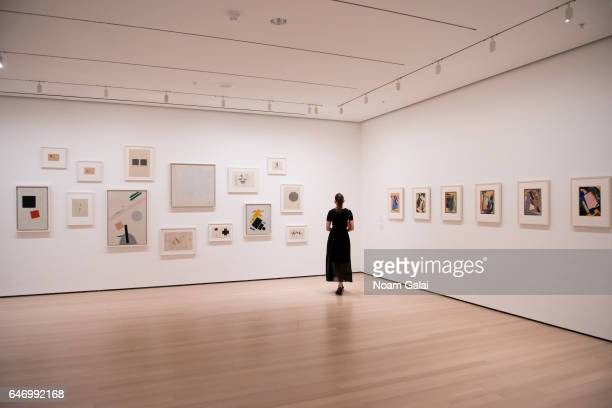 View of 'A Revolutionary Impulse: The Rise of the Russian Avant-Garde' gallery at the 2017 Armory Party at The Museum of Modern Art on March 1, 2017...