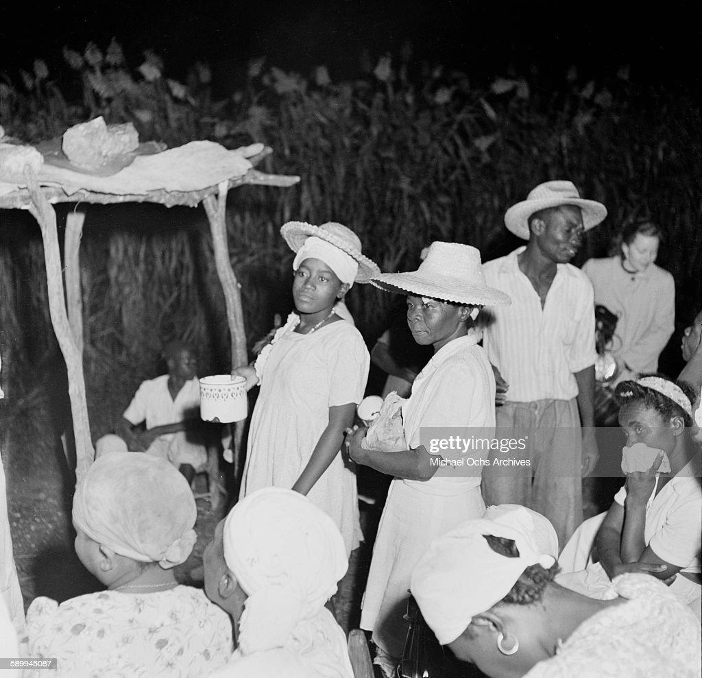 Haitian Vodou : News Photo