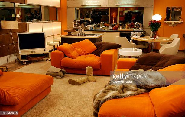 A view of a room is seen during Big Brother Village Press Tour on February 23 2005 in Cologne Germany