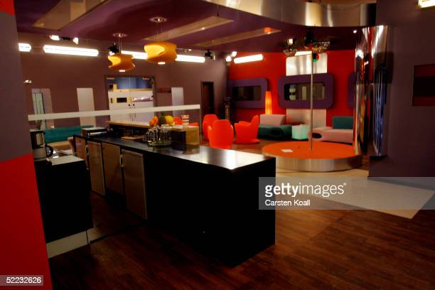 """View of a room is seen during """"Big Brother Village"""" - Press Tour on February 23, 2005 in Cologne, Germany."""