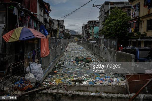 A view of a slum area where many killings have taken place in Manila Philippines July 23 2017 The United States congress is the latest to express...
