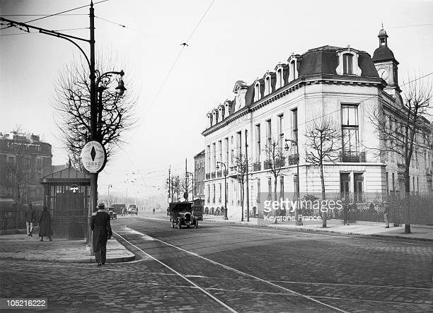 View Of A Street In Aubervilliers In The Seine Saint Denis Department In The Parisian Suburbs In 1931