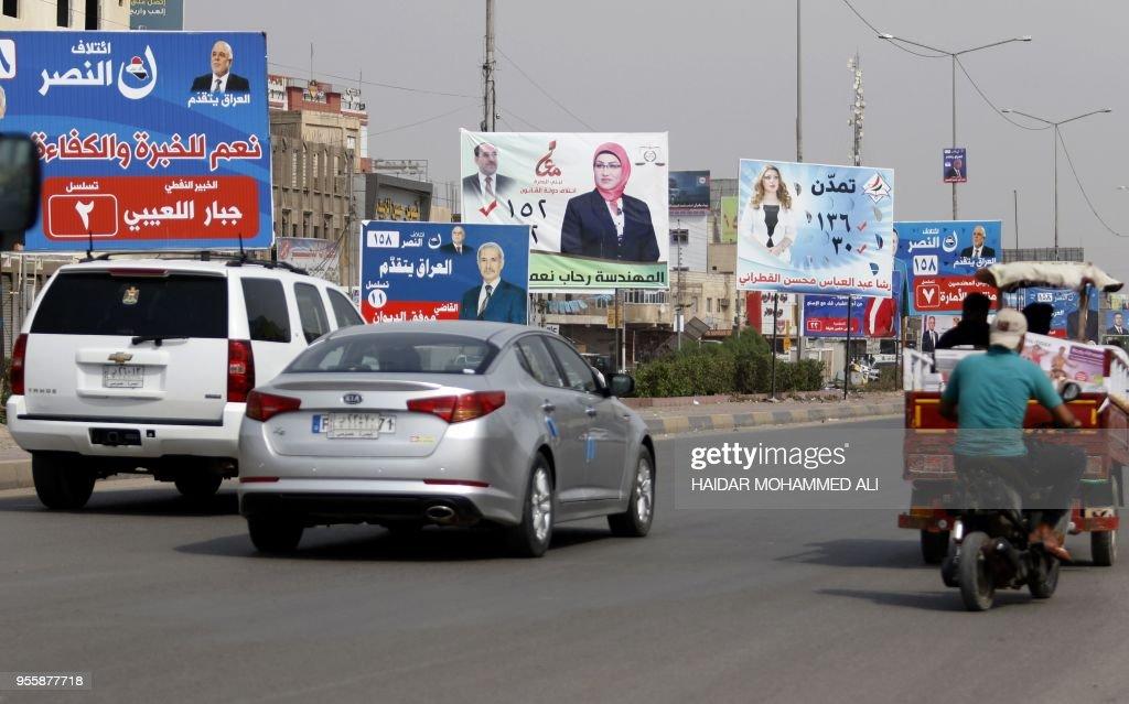 IRAQ-VOTE-BASRA : News Photo