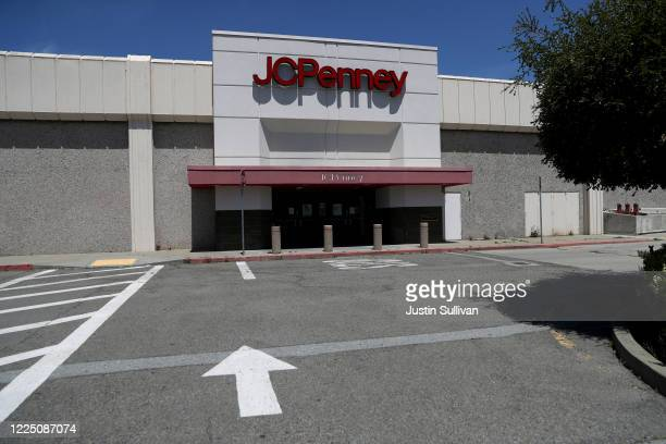 View of a temporarily closed JCPenney store at The Shops at Tanforan Mall on May 15, 2020 in San Bruno, California. JCPenney avoided bankruptcy after...