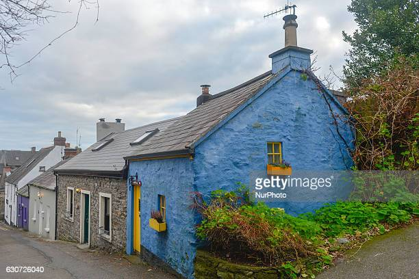A view of a traditional old houses in Kinsale in County Cork On Friday 30 December 2016 in Kinsale Cork Ireland