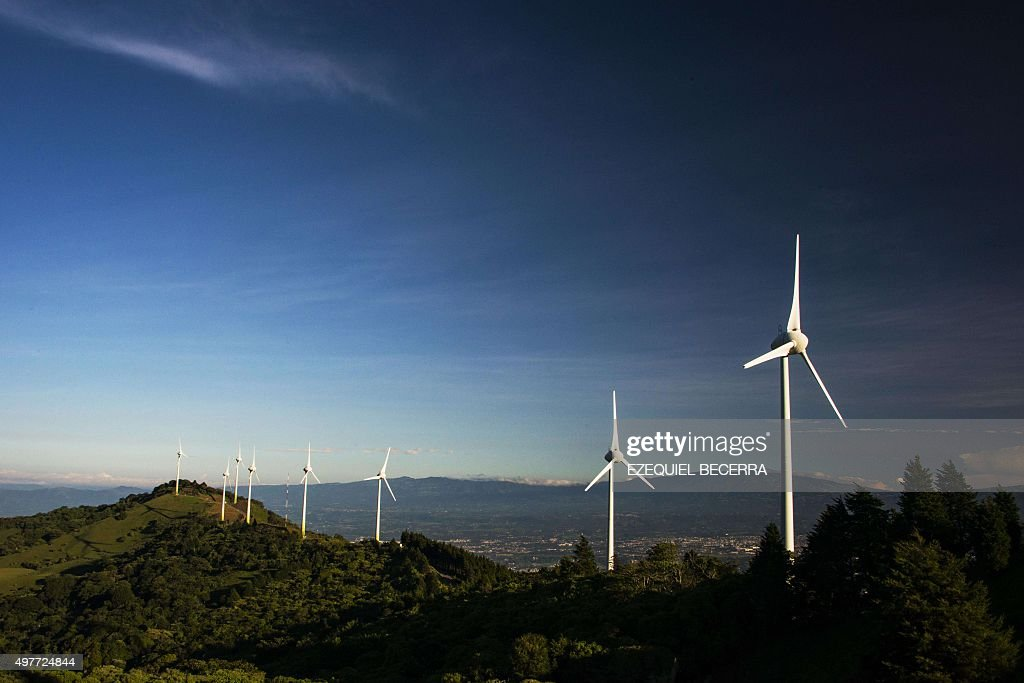 COSTA RICA-ENERGY-CLIMATE : News Photo